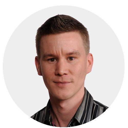 Henkilökuva Jukka-Pekka Kinnunen TeraKuu Oy