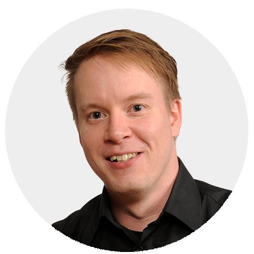 Henkilökuva Jesse Hallinen TeraKuu Oy